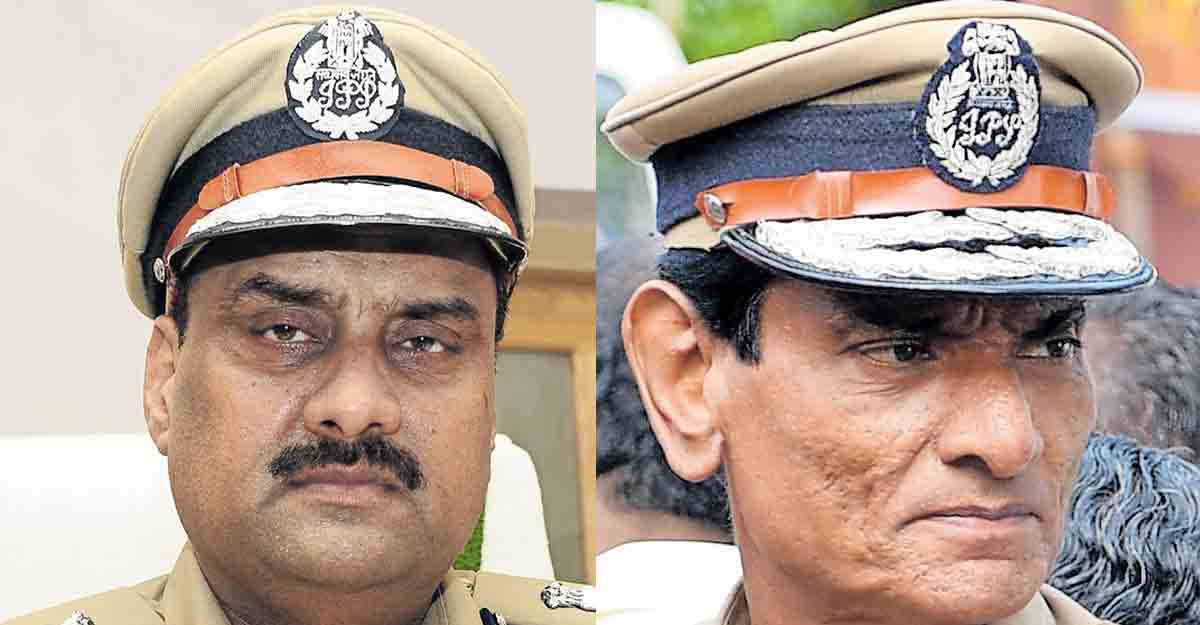 DGP in the circle of 4 ADGPs    DGP Anil Kant    Police