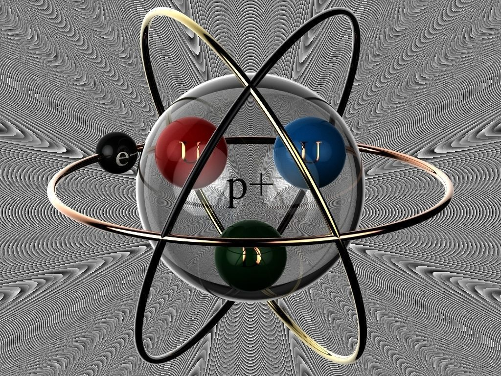 Hydrogen Atom Tattoo Concept Free 3d Model Dprt Dasm