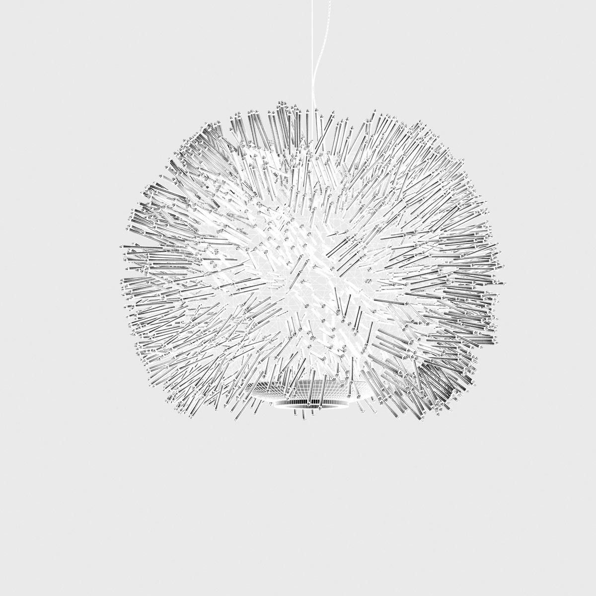 Terzani Sea Urchin Ceiling Light 3d Model Max Obj Fbx