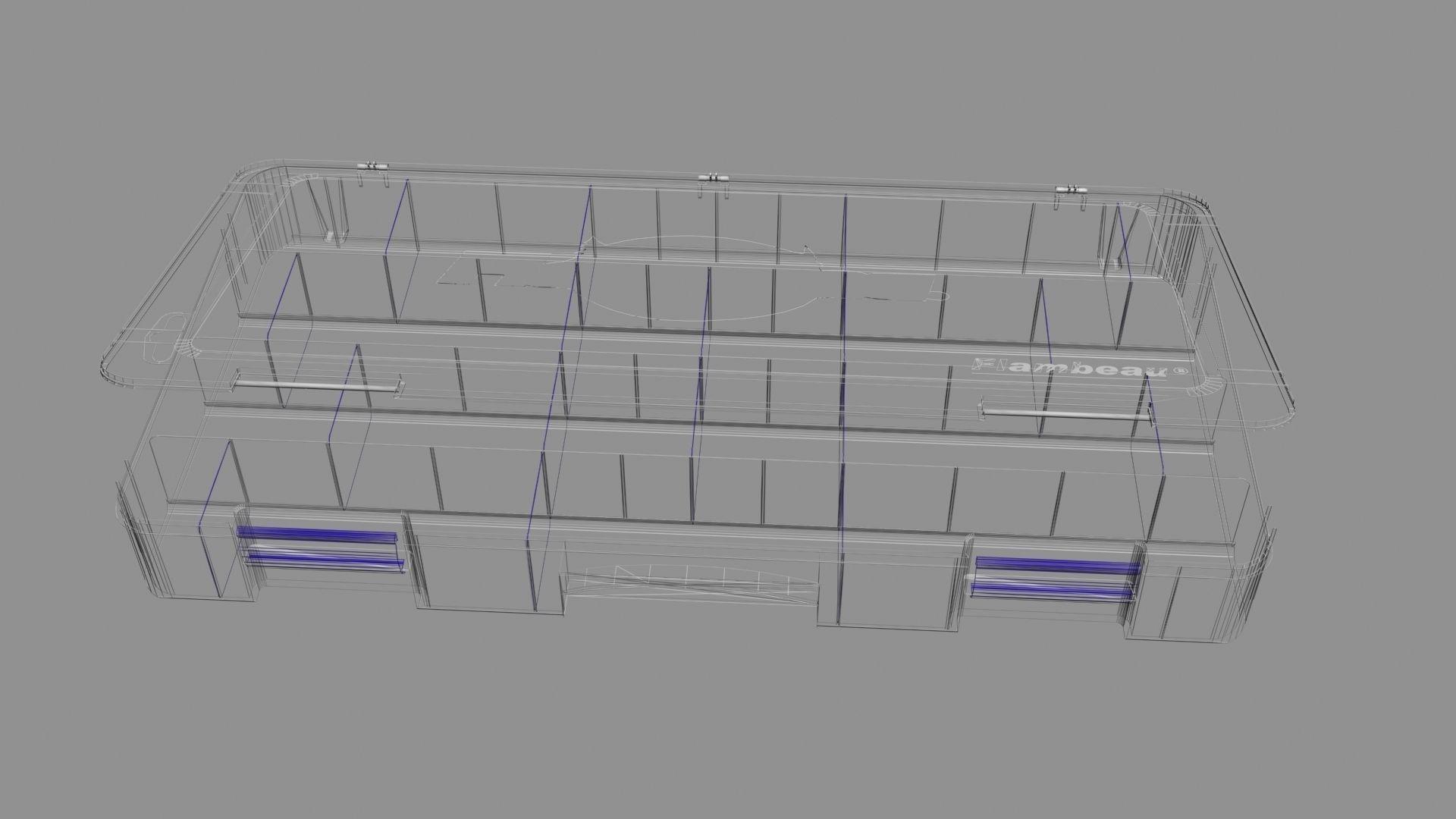 Tackle Box 3d Model X