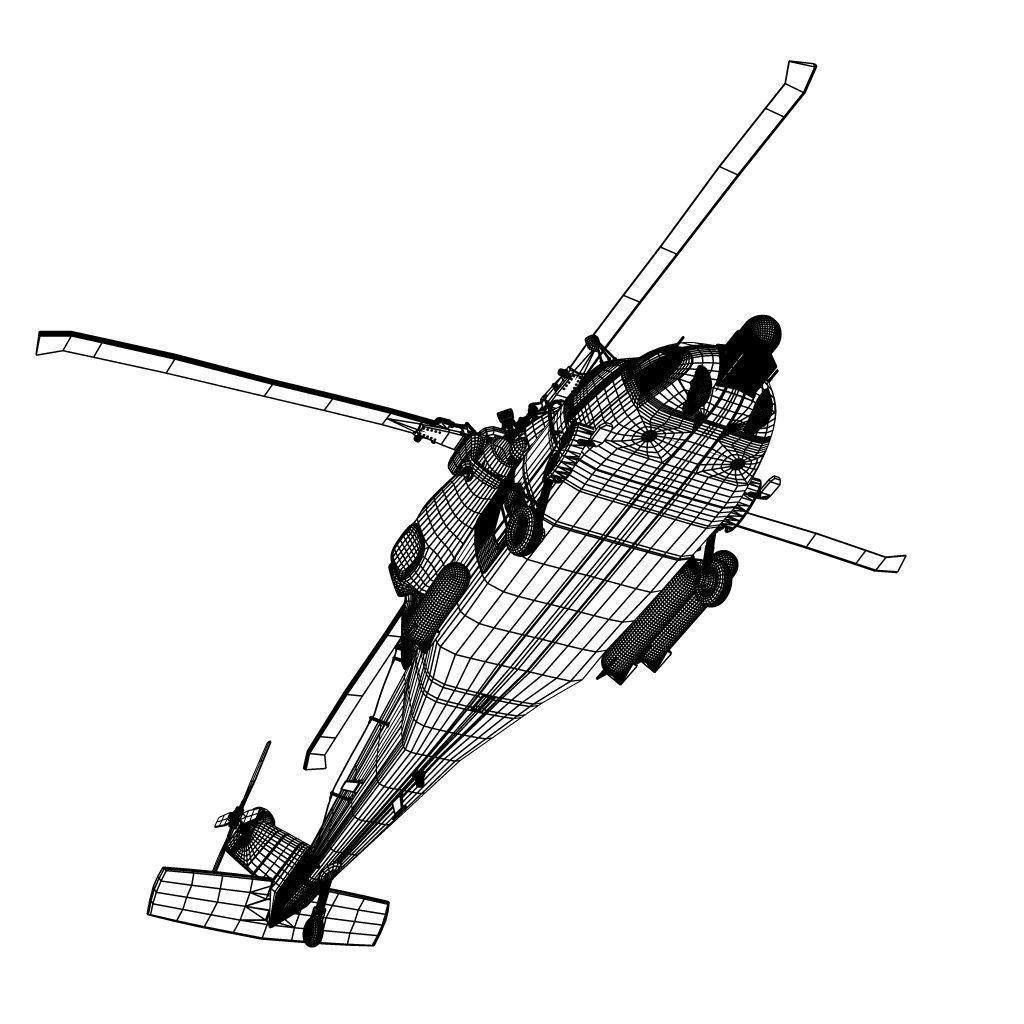 Sikorsky Hh60 Jayhawk 2 3d Model X Obj 3ds Fbx C4d