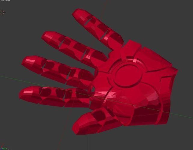 Iron Man Hand 3D Model 3D Printable Obj Stl