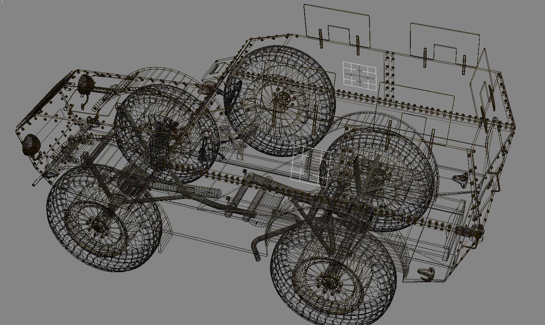 Autoprotetto Fiat Spa As 37 Balkans 3d Model X Obj
