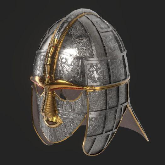 Sutton Hoo Helmet 3D asset | CGTrader