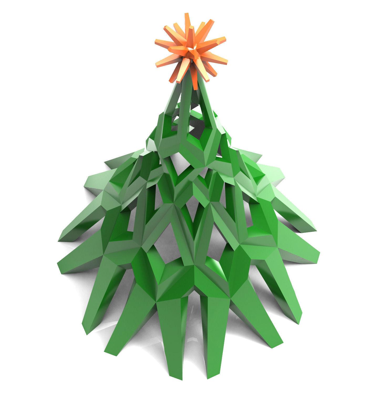 Christmas Tree 3d Model 3d Printable L