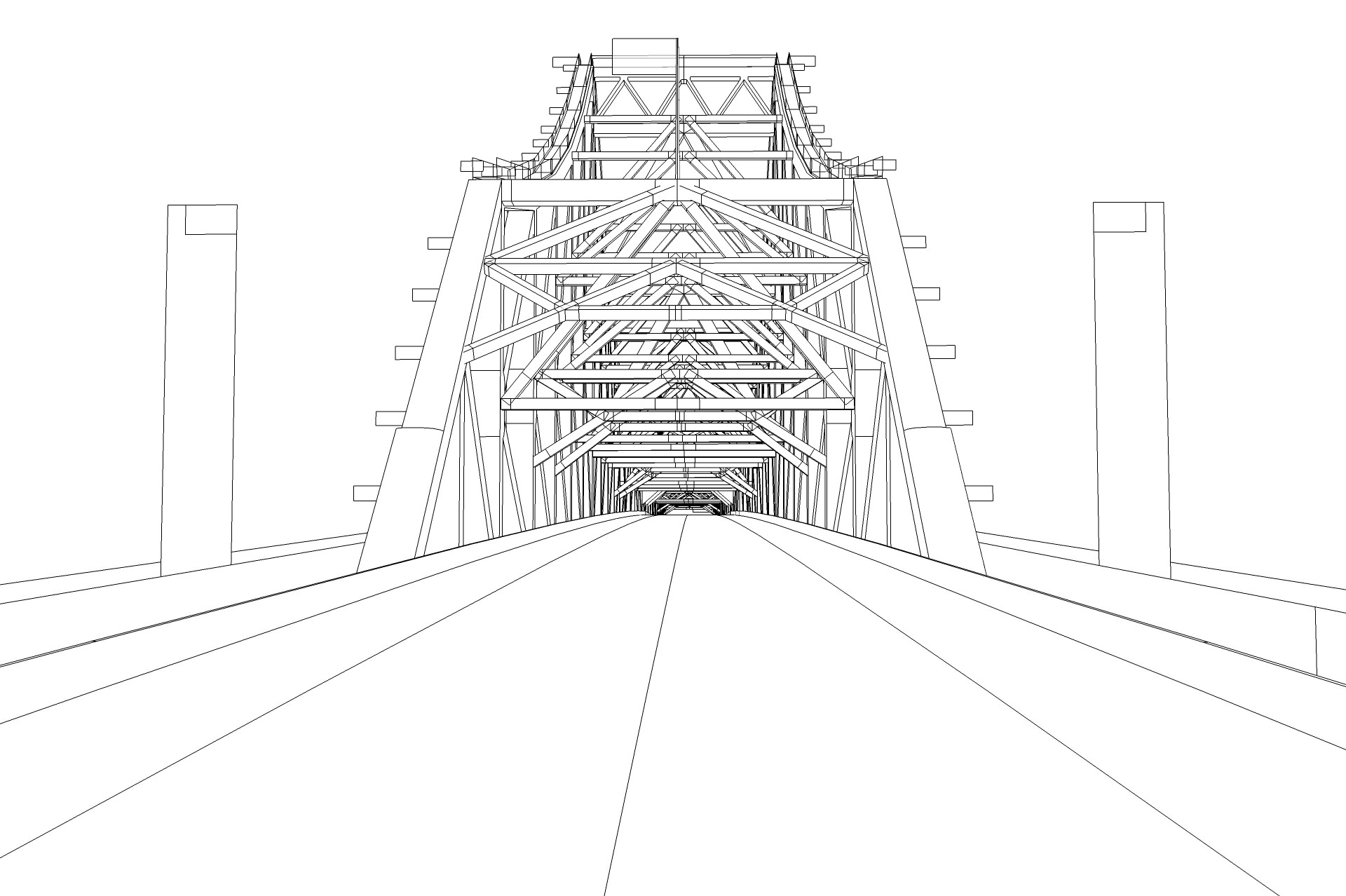 Story Bridge 3d Model Game Ready Rigged 3ds Fbx Dae