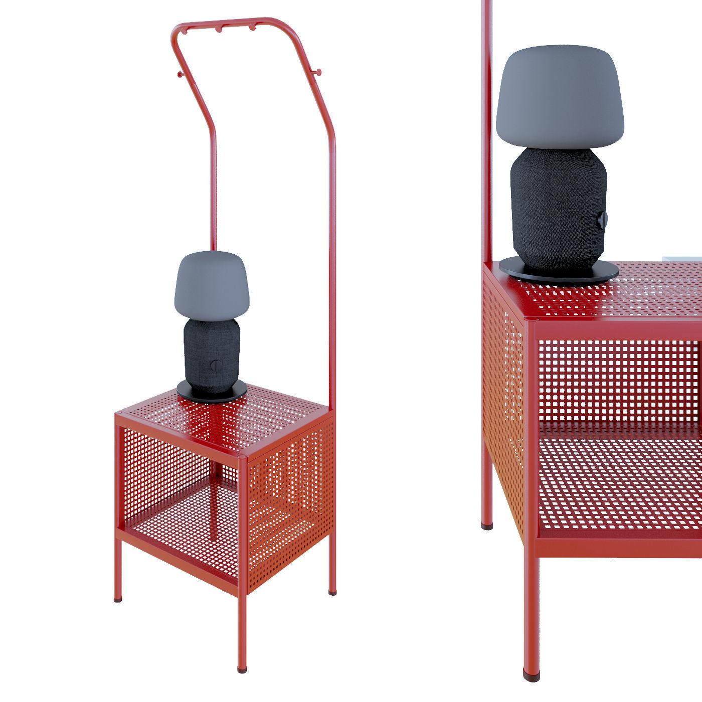 nikkeby clothes rack 3d model