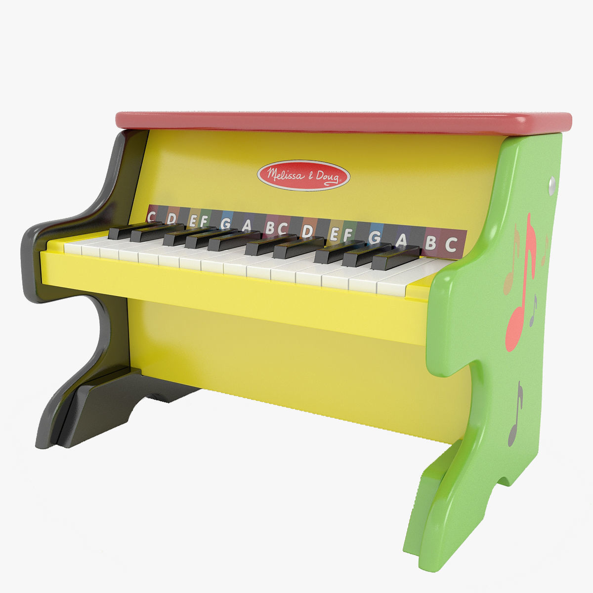 3d Model Play Piano Upright Musical Instruments Sound