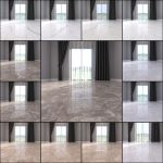 3d Model Marble Floor Collection 1 Cgtrader