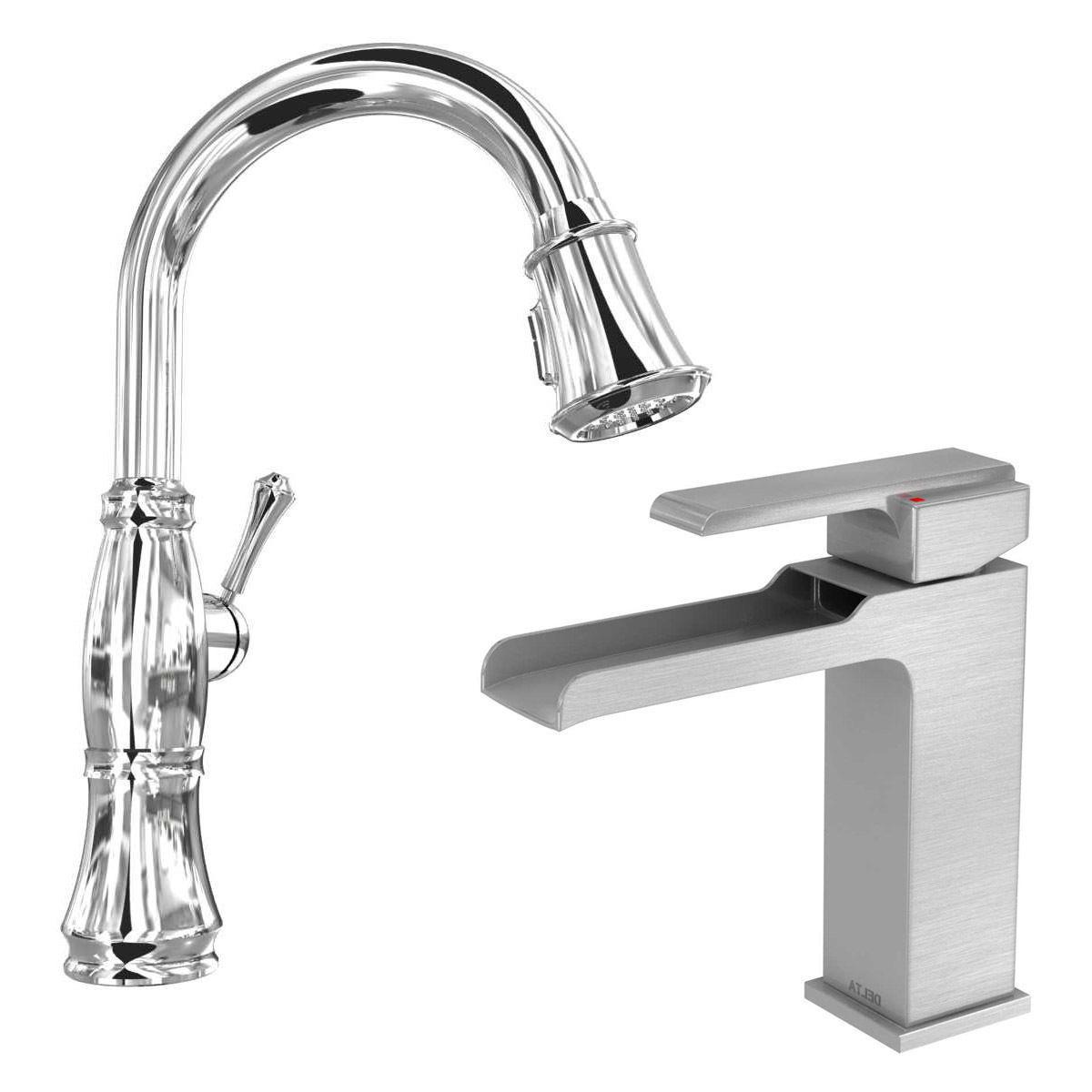 delta faucet 3d model