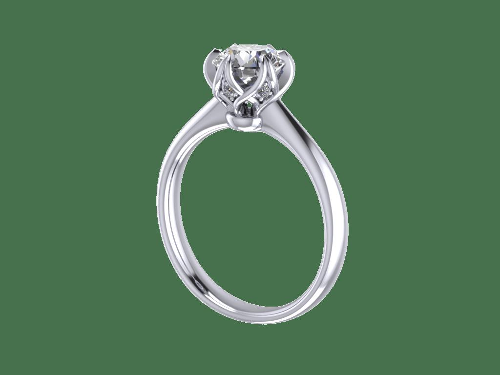 Jewelry Cad Stl Ring 3d Model 3d Printable L