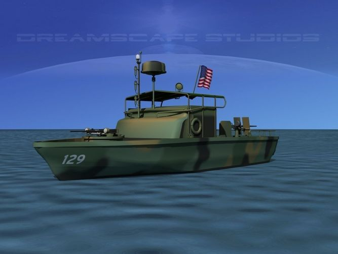 Pbr Patrol Boat Riverine 3d Cgtrader