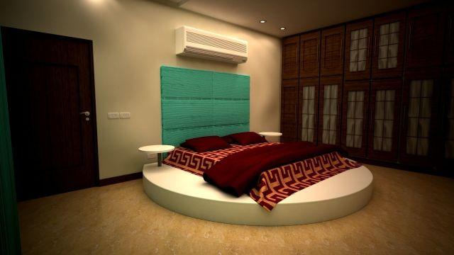 Master Bedroom Design V ray light setup 3D   CGTrader