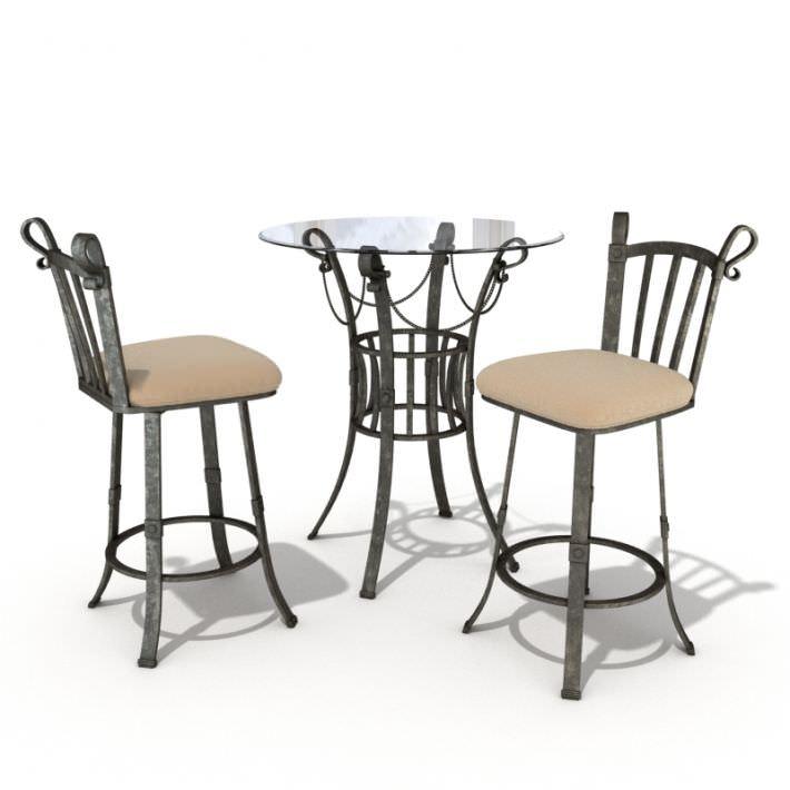 Bar Table And Chair Set