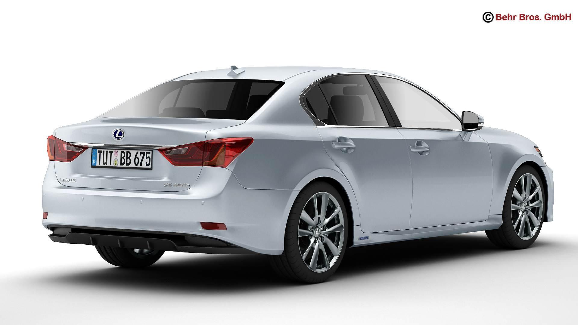 Lexus GS 450H 2013 3D model