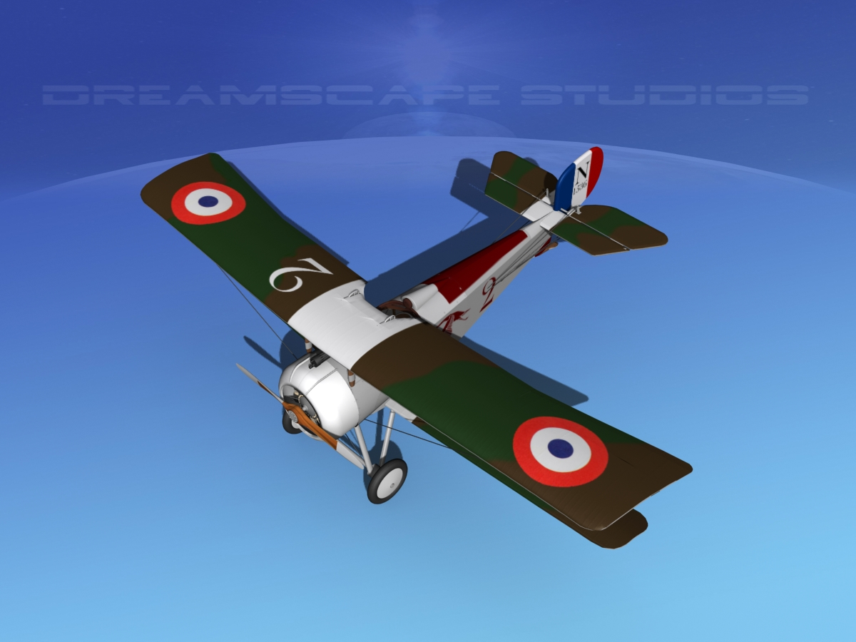Airplane Rotary Engine Animation
