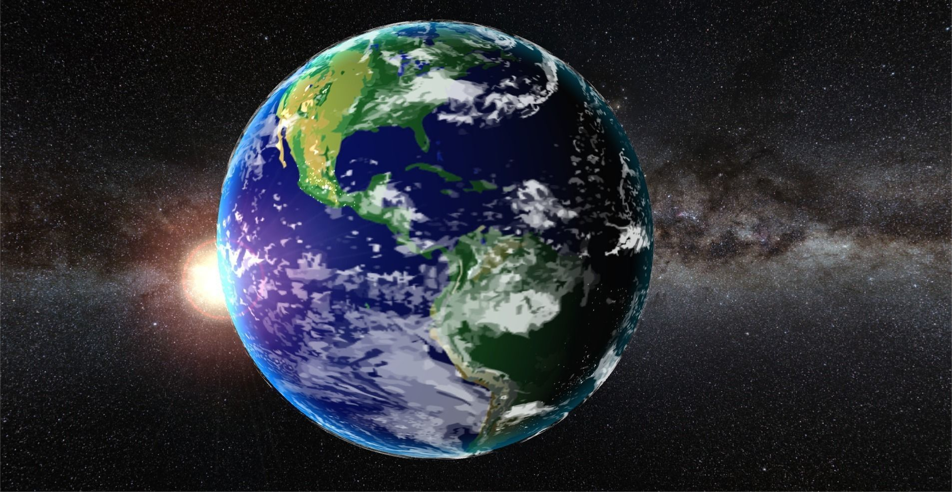 Planet Earth 3d Model Fbx Prefab