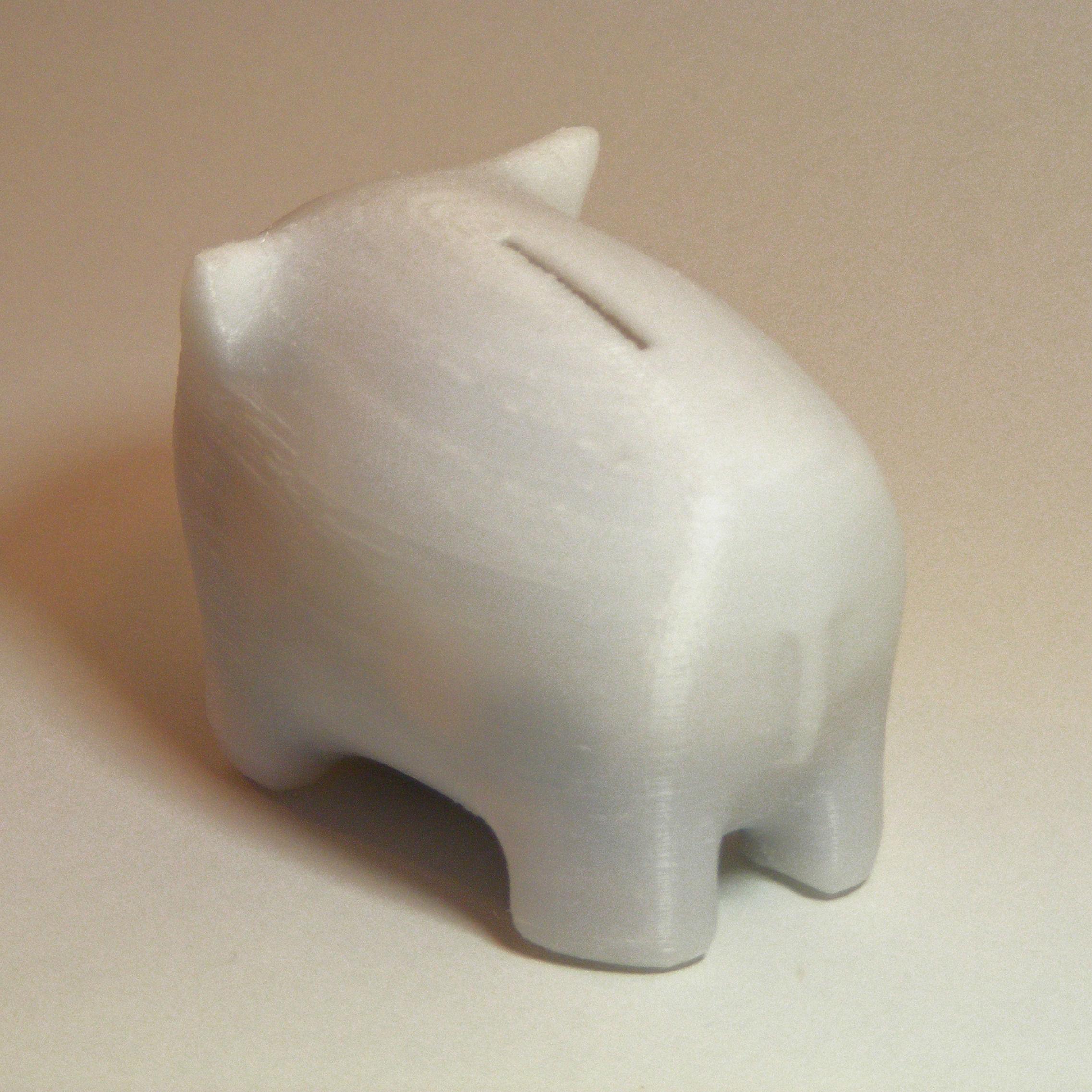 Piggy Bank 3d Model 3d Printable L