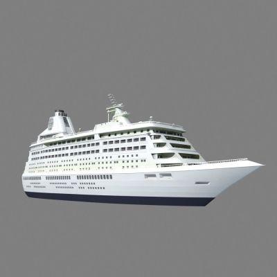 Cruise Ship 3D Model MAX | CGTrader.com