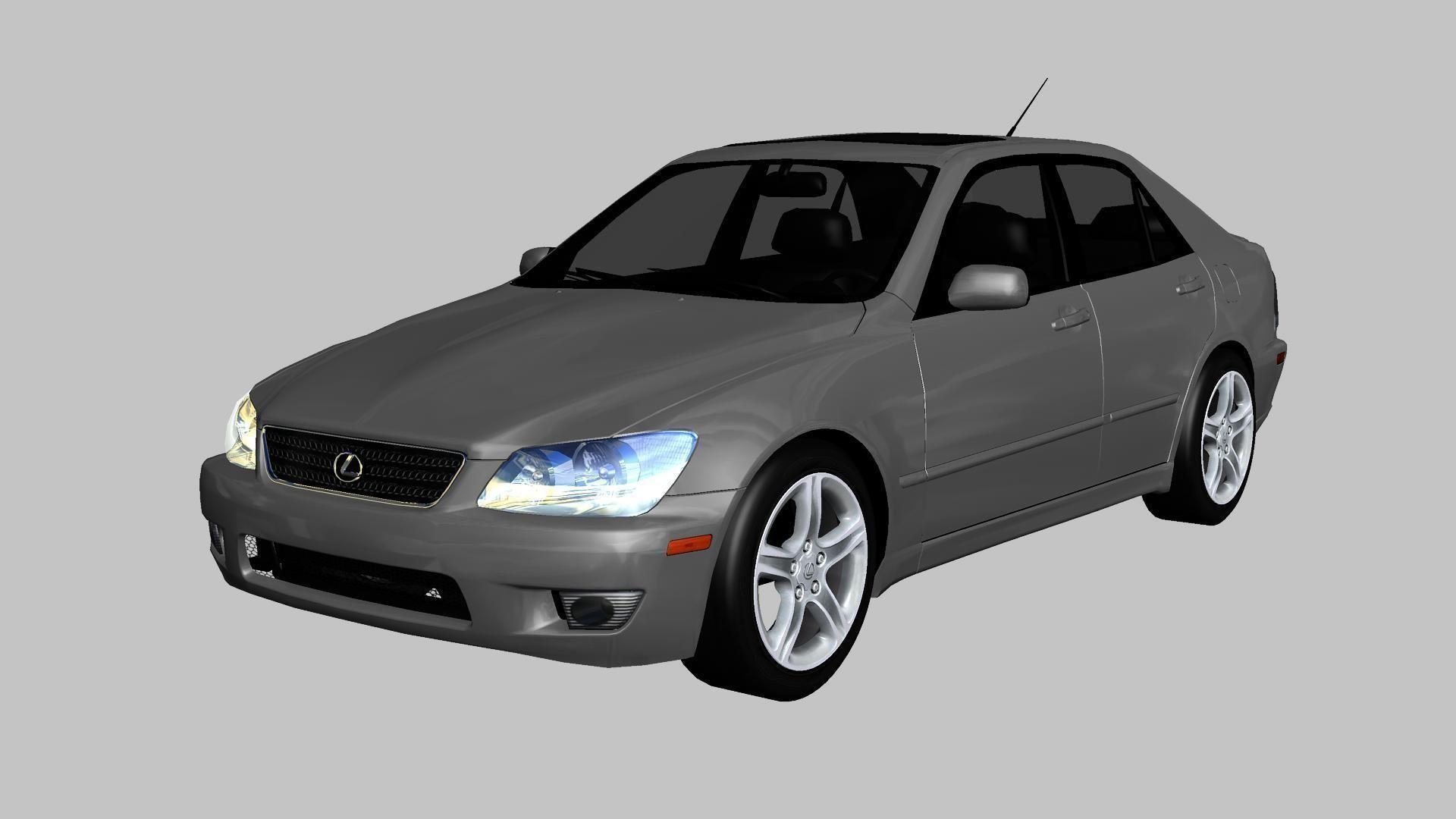 3D model Lexus IS300 2003