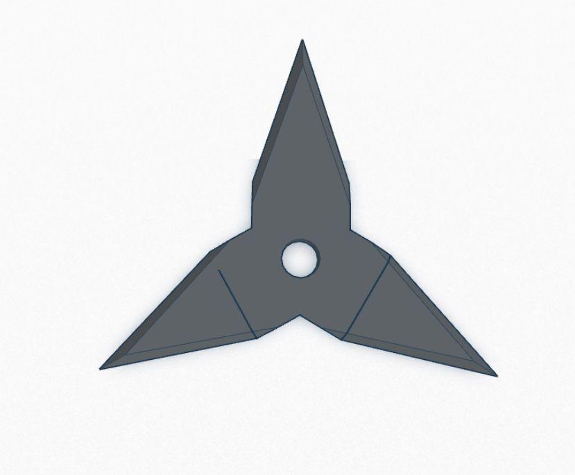 Ninja Throwing Star Printable