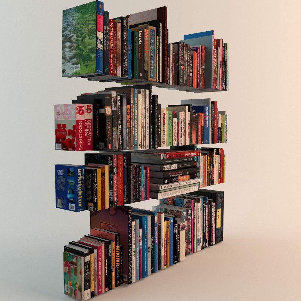 188 Realistic Books 3D Model MAX OBJ FBX