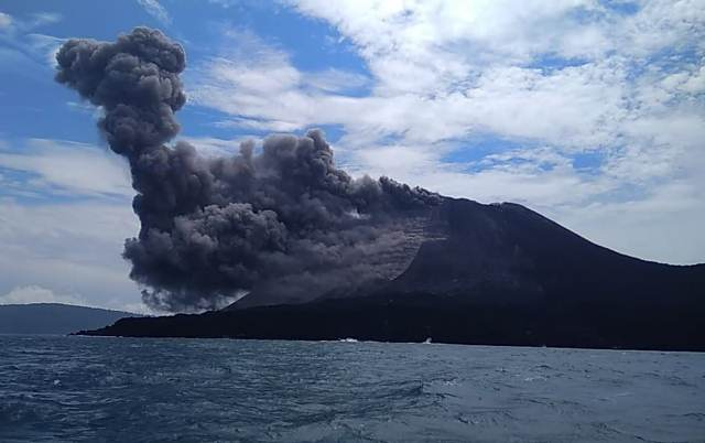 Fakta-Fakta Menarik Seputar Letusan Gunung Krakatau : Okezone Tren