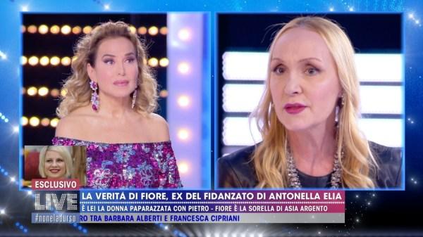 """Fiore Argento: """"Non ho chiamato Pietro per vederci, ha parlato solo di Antonella Elia"""" - Tgcom24"""