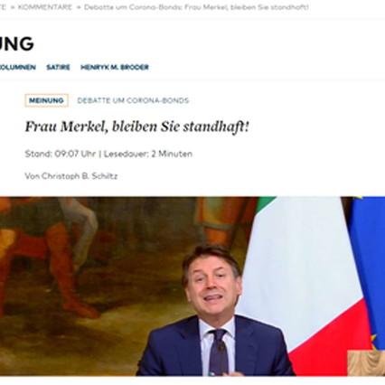 The eurogroup is back to meet Merkel: