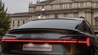 Audi, the future is an attitude: the e-tron S Sportback debuts at the Milan Design Week