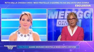 """Rita dalla Chiesa shock: """"Mio fratello Nando ha salvato una donna da un'aggressione"""""""