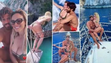 Diletta Leotta e Can Yaman a Capri, décolleté e… Faraglioni a vista