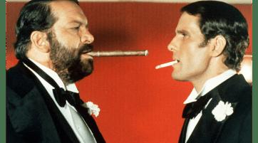 """""""Anche gli angeli mangiano fagioli"""", le curiosità sul film in cui Bud Spencer """"scazzotta"""" insieme a Giuliano Gemma"""