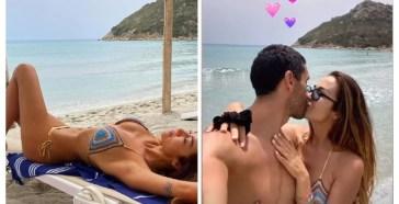 Giorgia Palmas e Filippo Magnini, la luna di miele in Sardegna in 4