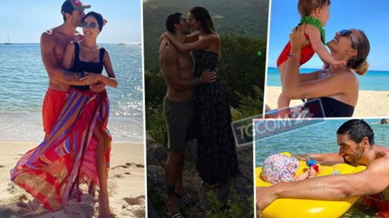 Giorgia Palmas e Filippo Magnini in Sardegna, prima vacanza da marito e moglie