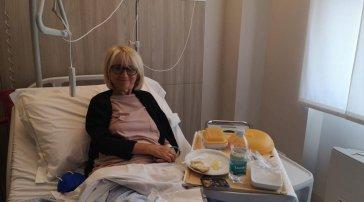 """Luciana Littizzetto di nuovo in ospedale: """"E sono ancora qui"""""""