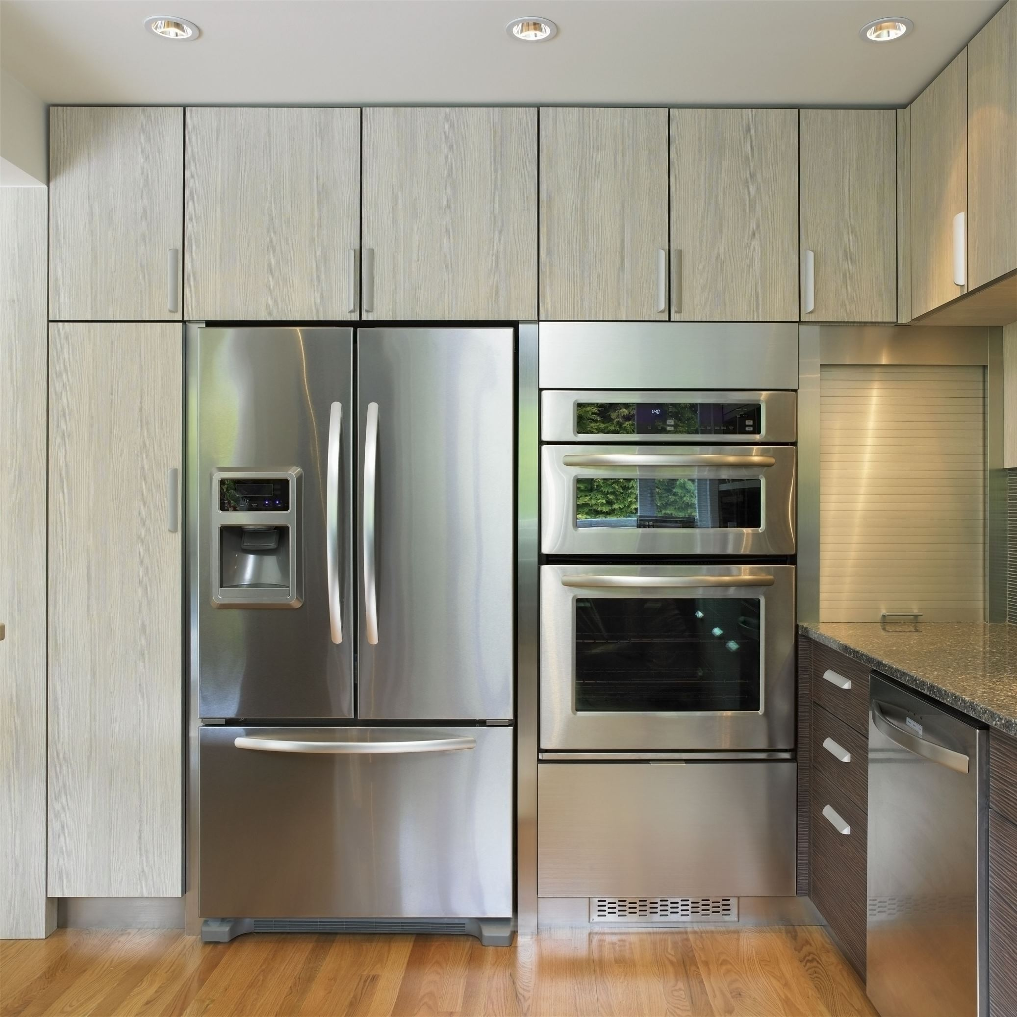 Too much stainless steel can overpower a room and make it feel cold and sterile
