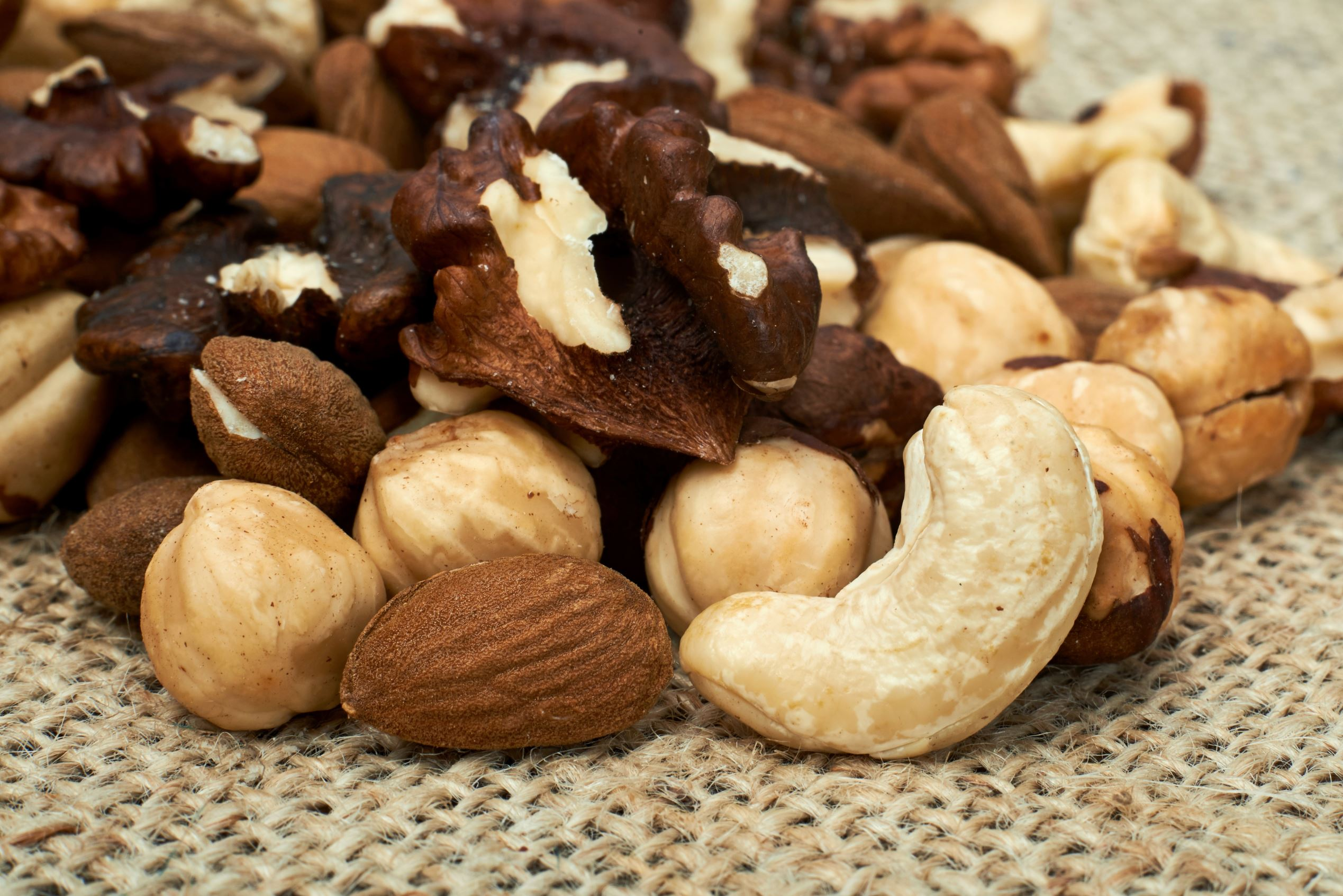 Eating a handful of nuts each day could help you live longer