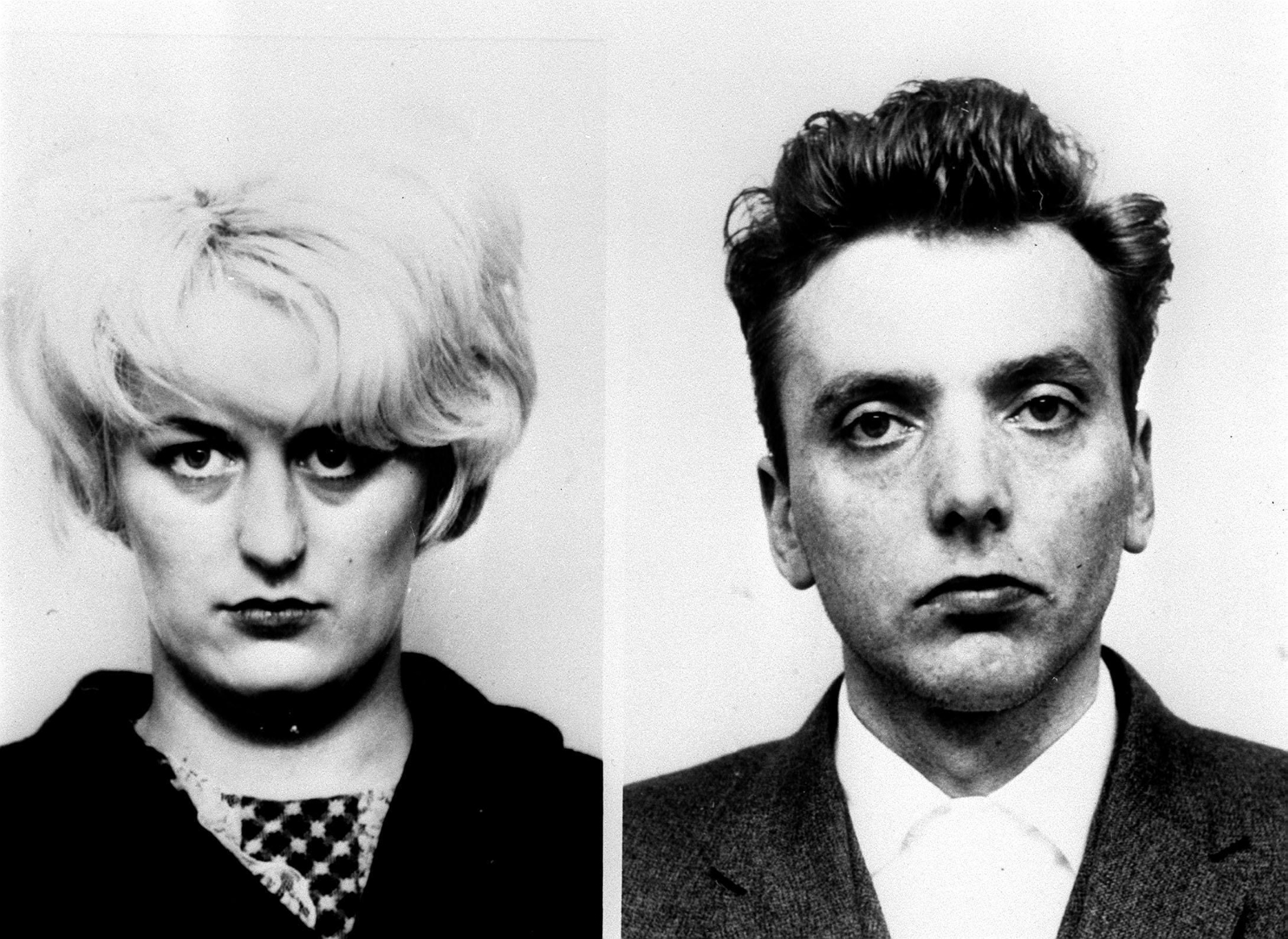 Undated handout file photo issued by Greater Manchester Police of Moors Murderers Myra Hindley and Ian Brady, as Margaret Thatcher was horrified at the prospect that Moors murderers Ian Brady and Myra Hindley could ever be released, newly released government papers reveal.