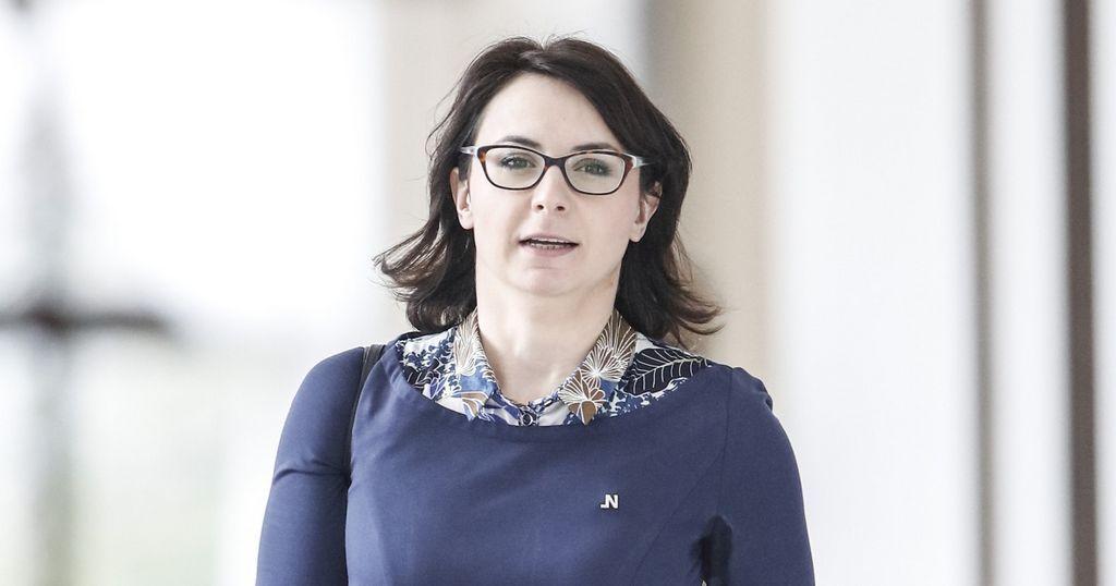 Posłanka Kamila Gasiuk-Pihowicz z Nowoczesnej