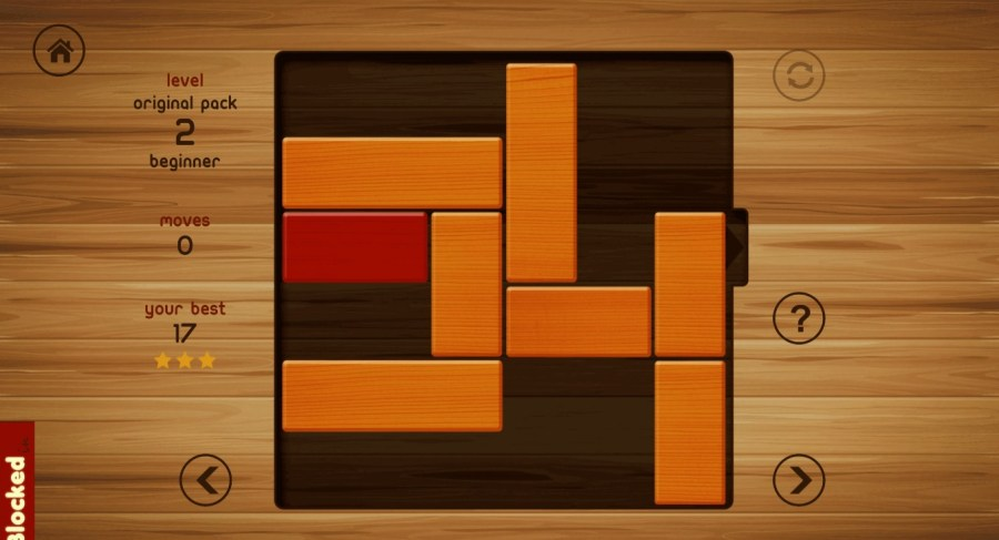 Simple but challenging games for Windows 10 Blocked In is a free sliding puzzle game where the goal is to get the red  block out of the board by moving other blocks to make way  It sounds simple