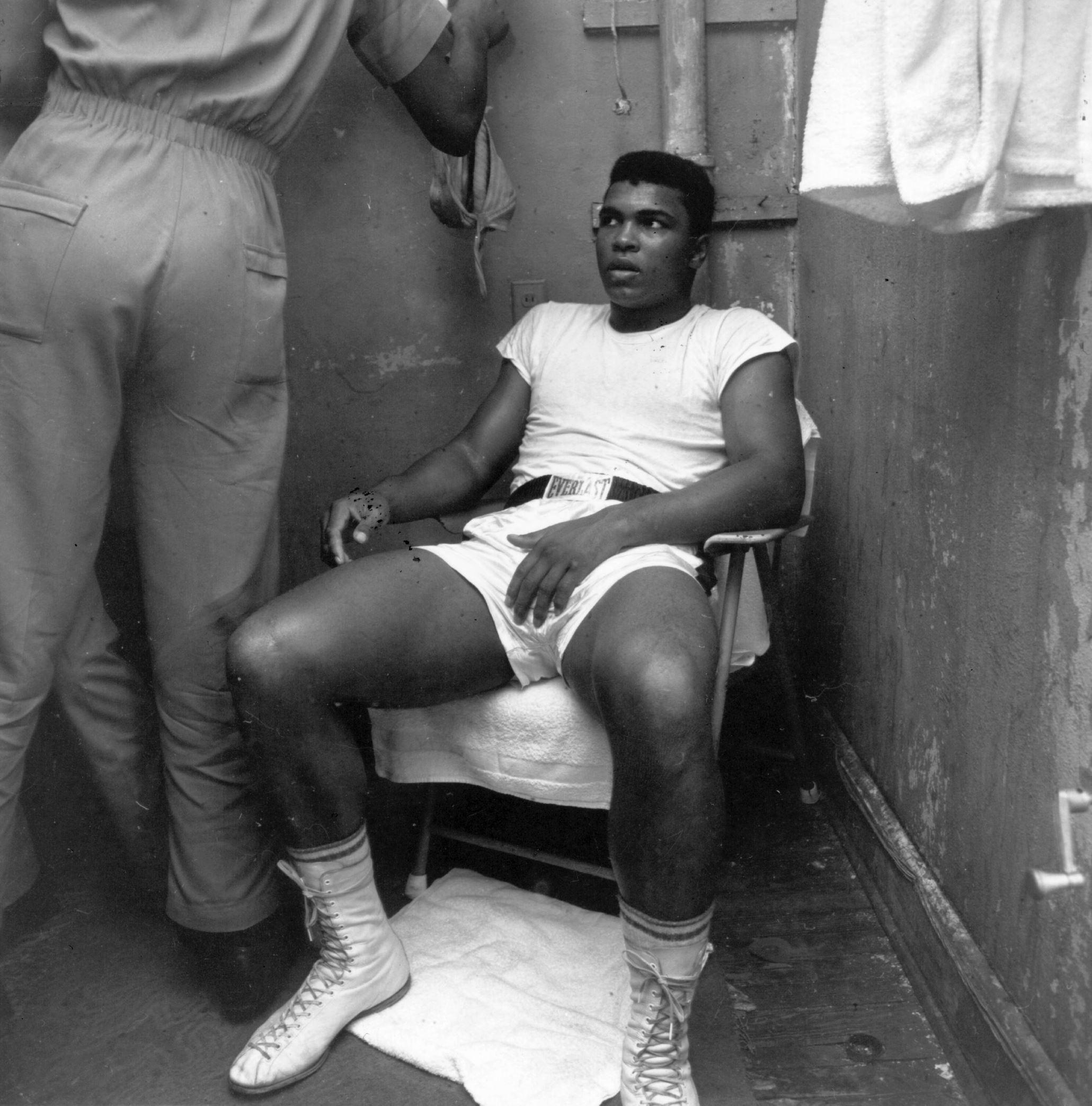 Mohamed Ali en 1964.