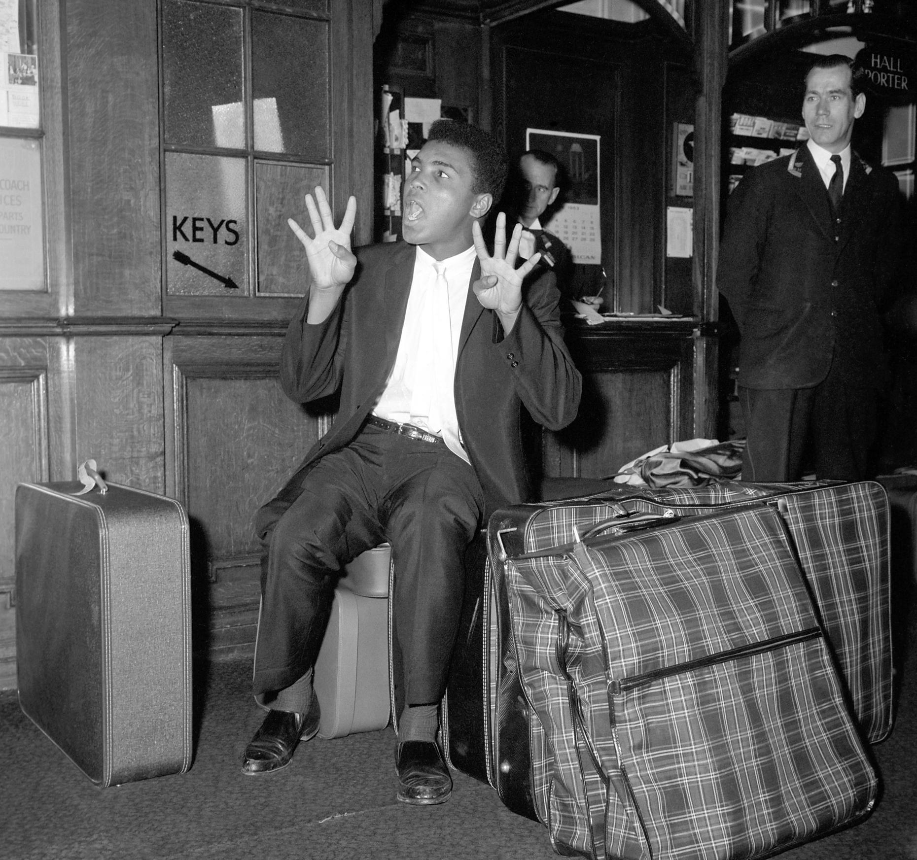 Mohamed Ali en 1963.
