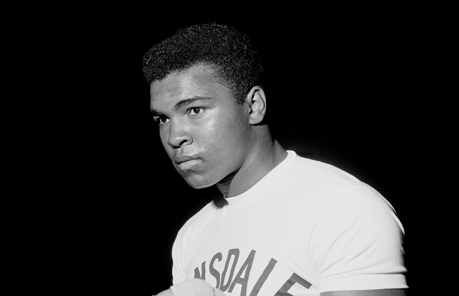 Mohamed Ali en 1966.