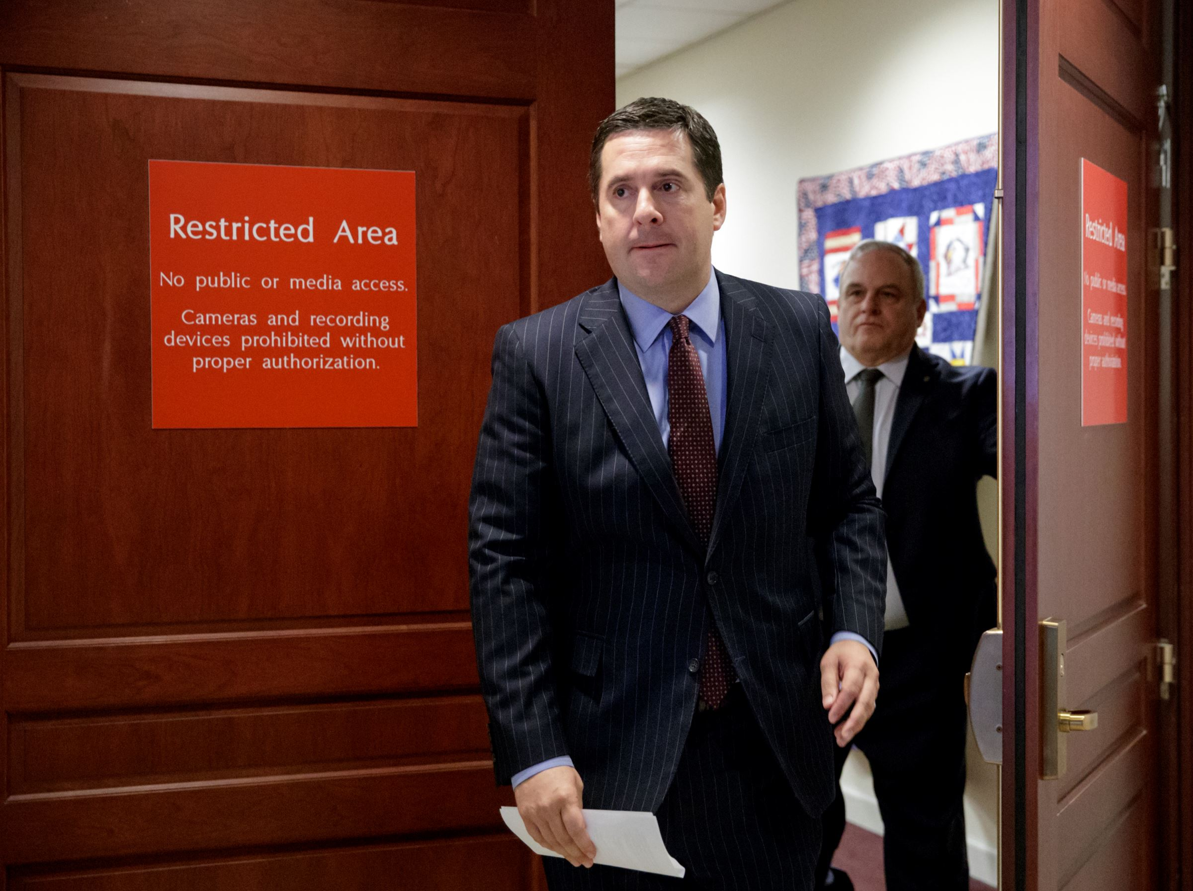 House Intelligence Committee Chairman Rep. Devin Nunes.