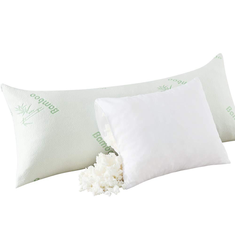 shredded memory foam body pillow online