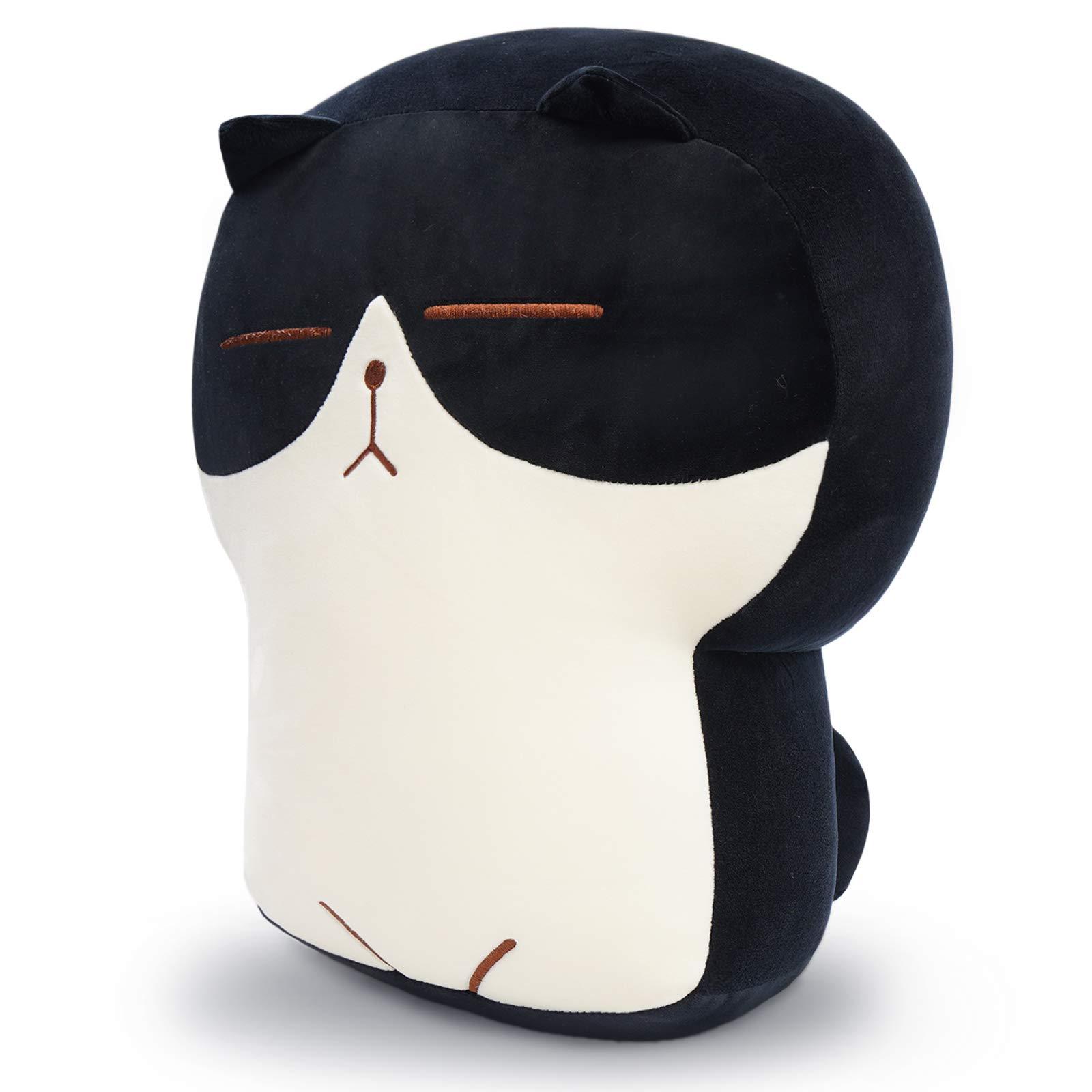 dentrun stuffed cat plush pillow big