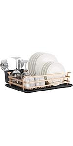 tier dish drying rack counter dish rack