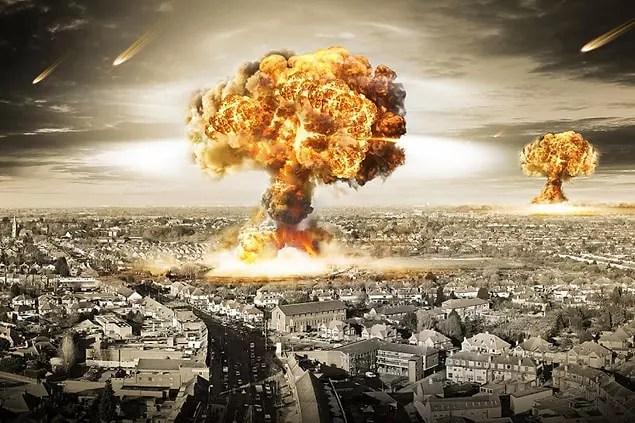 2. İkinci sırayı 12 katılımcının oyuyla nükleer savaş alıyor.