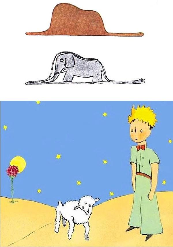 Fil mi şapka mı? Koyun, çiçeği yedi mi?